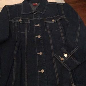 original packaging-never worn. Denim style  jacket